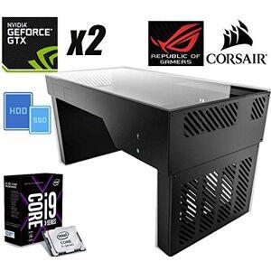 HWONLINE PC Gaming ULTIMATE GTX2 i9-7980XE 2.60GHz/LIQUID+64GB+(5.0TB) M.2 1.0TB SSD/EVO960PRO+4.0TB+2xSTRIX GTX1080Ti/11GB+BRW+X299 218042