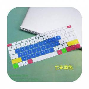 TOIT Tetto per Huawei Matebook 13 Wrt-W19 Wrt-W29 2019 Wrtw19 W29 Notebook Laptop Keyboard Cover Skin Protector Silicone candyblue