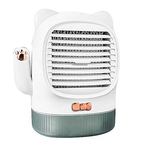 dfcyt purificatore d'aria con lampada germicida uv, ventola di raffreddamento scrivania usb, radiatore aria, radiatore aria lampada disinfezione ultravioletta