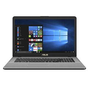 """Asus VivoBook Pro 17 Notebook, 17.3"""" HD IPS, Processore Intel Core i7-7500U, RAM 8 GB, HDD da 1 TB, Grigio Metallizzato Scuro [Layout Italiano]"""