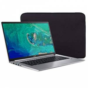 """Acer Swift 5 SF515 Touchscreen Laptop, 15.6"""" IPS FHD Thin and Light PC, Core i7 up to 4.60 GHz, 16GB RAM, 1TB PCIe SSD, Backlit KB, USB-C/DP, HDMI, Mytrix Laptop Sleeve, Win 10 QWERTY US Version"""
