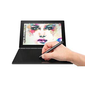 """Lenovo ZA150066DE Yoga Book Tablet con Display da 10.1"""", Processore Intel Atom da 1.44 GHz, 4 GB LPDDR3-SDRAM, 64 GB, Fotocamera Posteriore da 8 MP, Windows 10 Pro, Nero"""