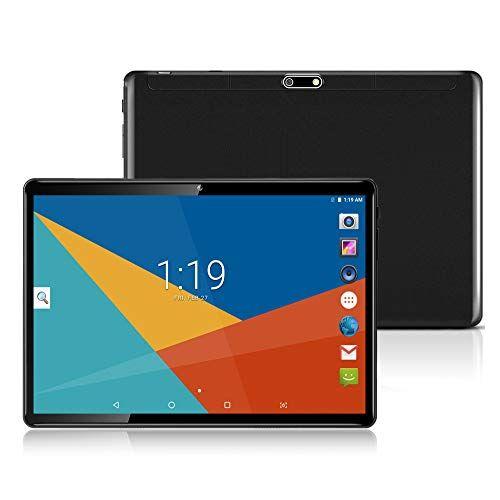 MaiTai Tablet 10 Pollici con Wifi Offerte Fire HD 10.1 3G Android 7.0 4GB RAM,64GB ROM,Doppia SIM,Octa Core,GPS,OTG,1080P,Black
