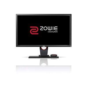 BenQ ZOWIE XL2430 e-Sports Gaming Monitor con 1 ms, 24, 144 Hz, Regolabile in Altezza, FHD, DP, S Switch, Nero eQualizer, Dark Grey