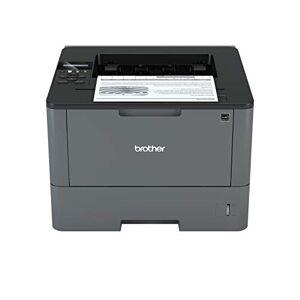 Brother Hll5100DN Stampante Laser Bianco e Nero, Velocit di Stampa 40 ppm, Stampa Fronte / Retro Automatica, Scheda di Rete Cablata (No Wifi)