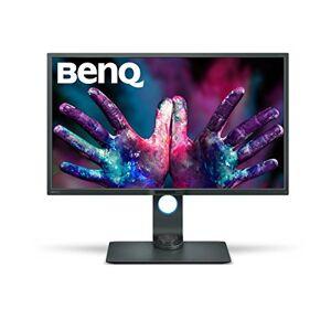 BenQ Pd3200U Monitor per Designer da 32 Pollici Uhd, Modalit Darkroom, Cad/Cam, Funzione Kvm Switch, Grigio