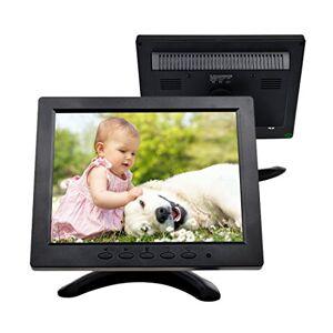 TOGUARD Monitor 8 pollici 1024*768 TFT LCD a colori con connessioni BNC, HDMI, AV, VGA