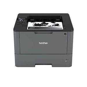 Brother HLL5200DW Stampante Laser Bianco e Nero, Velocit di Stampa 40 ppm, Stampa Fronte / Retro Automatica, Scheda di Rete Cablata e WiFi