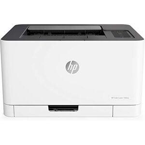 HP Color Laser 150nw (4ZB95A) Stampante Laser a Colori, Scansione tramite HP Smart App, con Funzionalit di Sicurezza Dinamica, Wi-Fi, Wi-Fi Direct, Bianca