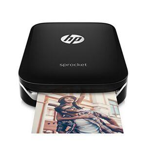 HP Sprocket X7N08A - Stampante Fotografica Istantanea Portatile, Nero (foto 5 x 7,6 cm)