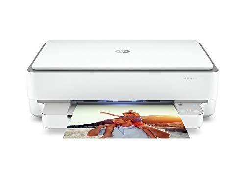 HP Envy 6032 5SE19B, Stampante Multifunzione, Stampa, Scansiona, Foto, formato A4, Wi-Fi Dual-Band, USB 2.0, HP Smart; 6 mesi di Instant Ink inclusi, Grigia
