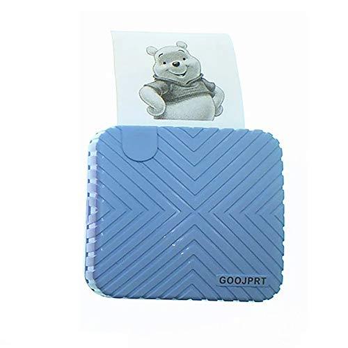 LUCKYFF Stampante per Etichette Bluetooth Portatile, Mini Stampante Termica Portatile, Stampante Senza Etichetta, su Etichettatura, Abbigliamento, Gioielli, Mailing, Compatibile per Sistema Android e iOS