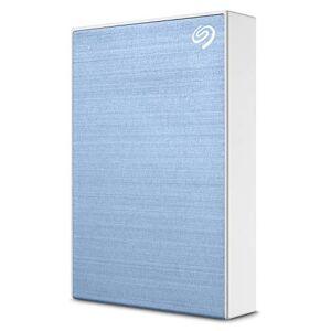 Seagate 1TB Backup Plus Slim Portable External Hard Drive Azzurro 4TB