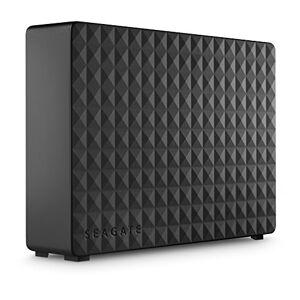 LaCie Seagate Expansion Desktop, Unit Disco Esterna Desktop da 10 TB, USB 3.0 per PC Desktop, PC Portatili e Mac (STEB10000400)