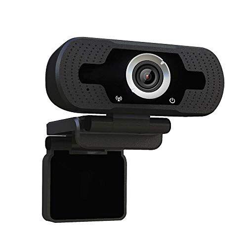 Xiongtai Webcam per Computer Desktop Fotocamera -1080p PRO Webcam 30fps Webcam USB Webcam con Microfono per Lavoro Online Domestico.
