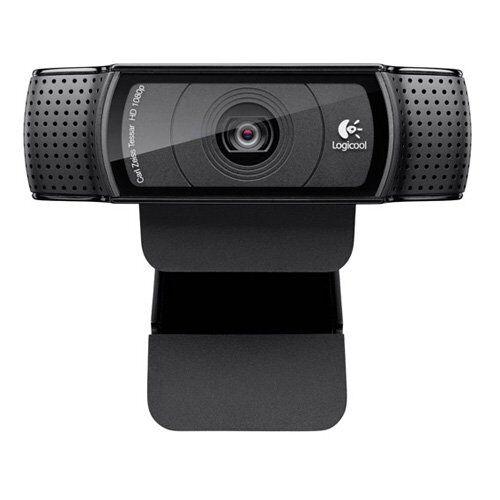 logitech c920webcam (1920x 1080pixel, 1080p, 720p, h.264, usb 2.0, nero, clip)
