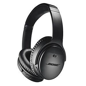 Bose QuietComfort 35 II Noise Cancelling Bluetooth Headphones - Cuffie Over-Ear Wireless con Microfono Integrato e Controllo Vocale Alexa, Nero