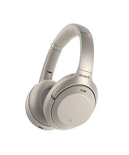 Sony WH-1000XM3 Cuffie Wireless Bluetooth On Ear con HD Noise Cancelling, NFC, Compatibile con Amazon Alexa, Argento