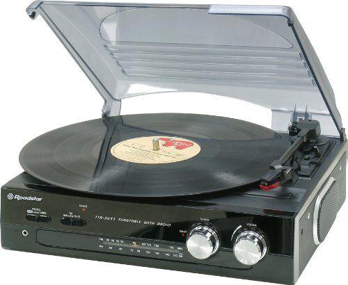 roadstar giradischi stereofonico con radio stereo compatto roadstar ttr-8633n