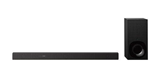 Sony HT-ZF9 Soundbar 3.1 Canali Dolby Atmos/DTS X con Audio ad Alta Risoluzione, Compatibile con Amazon Alexa, Nero