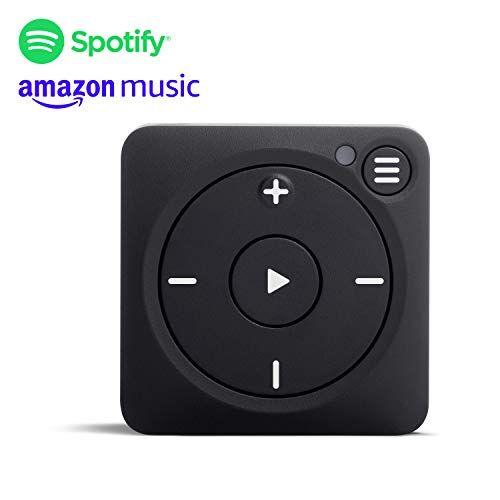 Mighty Vibe Spotify e Amazon Music Player - Zazzy Nero - Lettore multimediale digitale - Clip sportiva, per Bluetooth e cuffie cablate - Lascia il telefono a casa