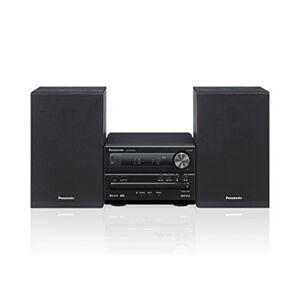 Panasonic SC Sistema Micro, CD, MP3, Radio RDS, USB, Bluetooth, 20 Watt RMS, Nero