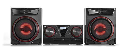 karcher mc 5400d - impianto stereo compatto con lettore cd, impianto stereo bluetooth, radio ukw/dab+ con stazioni memorizzabili, usb per riproduzione mp3, 100 watt rms, telecomando
