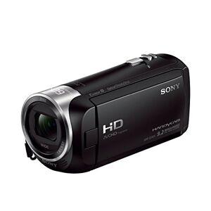 Sony HDR-CX405 Videocamera Full HD con Sensore CMOS Exmor R, Ottica Zeiss 26.8 mm, Zoom Ottico 30x, SteadyShot Ottico, Nero
