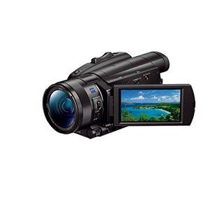 "Sony FDR-AX700 Videocamera 4K HDR con Sensore CMOS Exmor RS Stacked da 1"", Fast Hybrid AF, Ottica Grandangolare Zeiss 29.0 mm, Zoom Ottico 12x, S-Log3 e HLG, Nero"