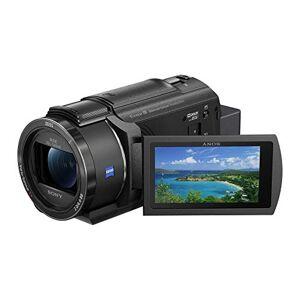 Sony FDR-AX43  Videocamera Digitale 4K Ultra HD con Sistema di stabilizzazione integrato a cinque assi (Balanced Optical SteadyShot), Zoom ottico 20x, LCD orientabile (Nero)