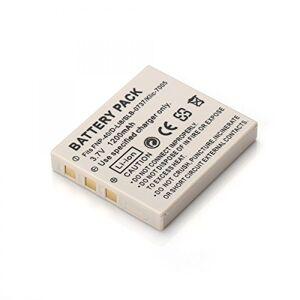 Rusty Bob - NP-40 batteria Fuji FinePix F-402 F-420 F-455 F-460 F-470 F-480 F-650 F-700 F-710 F-610 F-810 F-818 / J50 V10 Z-1 Z- 2 Z 3 - solo batteria