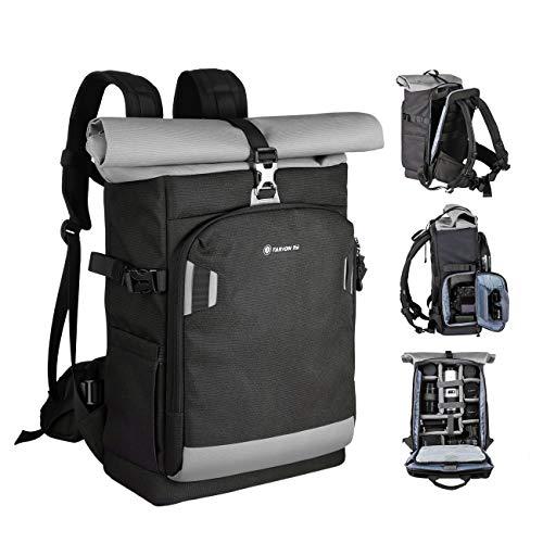 tarion xp zaino fotografico grande zaino fotocamera pc 15 zaino macchina fotografica impermeabile resistente all'acqua zaino fotografico professionale laptop trekking