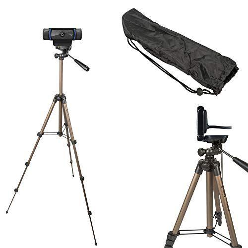 tronicxl 1,05 m tripod 19 w treppiede per webcam ad esempio logitech c920 brio 4k c925e c922x c922 c930e c930 c615 microsoft camera webcamativ supporto per webcam