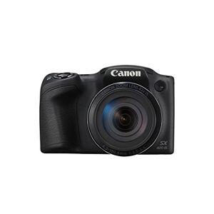 Canon PowerShot SX420 IS Fotocamera Bridge Digitale, 20 Megapixel, Nero/Antracite