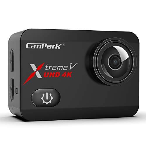Campark X30【4K 60FPS】Action Cam WiFi EIS Touch Screen 20MP Ultra HD Macchina Fotografica Subacquea 40M Videocamera con 2×1350mAh Batterie, 1 Caricabatterie e Kit di Accessori Compatibile con Gopro
