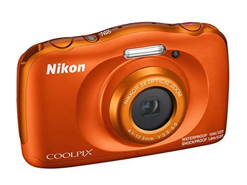 Nikon Coolpix W150 Fotocamera Digitale Compatta, 13.2 Megapixel, LCD 3, Full HD, Impermeabile, Resistente agli Urti, alle Basse Temperature e alla Polvere, Arancione [Nital Card: 4 Anni di Garanzia]