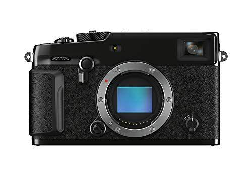 """Fujifilm X-Pro3 Fotocamera Digitale Mirrorless 26 MP, Sensore X-Trans CMOS 4, Filmati 4K 30p, Mirino Ibrido, Schermo LCD 3"""" Touch Ribaltabile, Nero"""