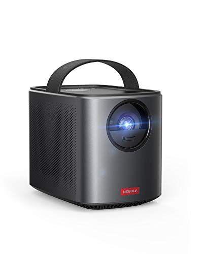 Nebula di Anker, proiettore portatile Mars II Pro da 500 lumen ANSI, nero, immagine a 720p, videoproiettore, proiettore TV con immagine da 30 a 150 pollici, proiettore film, intrattenimento domestico