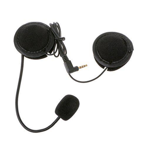lagand microfono altoparlante morbido di lavoro per moto interfono con 3.5mm