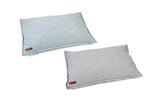 beeztees cuscino cuccia cesta lettino per cani cane sweat grigio 100x70x20 cm