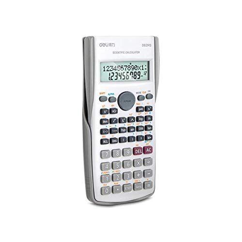 YCBHD Calcolatrice scientifica, Moda Calcolatrice Funzione 240 Kinds Of funzionale Informatica (per studenti delle scuole superiori) calcolatrice (Color : White)