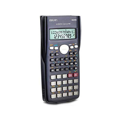 YCBHD Calcolatrice scientifica, Moda Calcolatrice Funzione 240 Kinds Of funzionale Informatica (per studenti delle scuole superiori) calcolatrice (Color : Black)