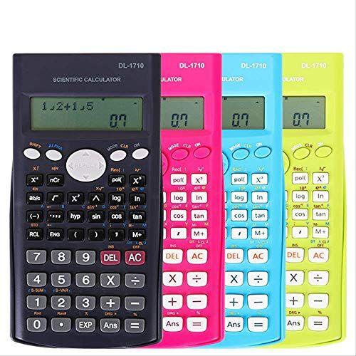ZHAOYAN Scientific Calculator College Studenti Multi-Funzionale Funzione Informatica Esame Finanziario Speciale Con Il Calcolo Dell'Indice Aritmetico Di Varianza Standard Statistica