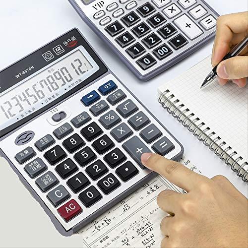 ZHAOYAN Office Calcolatrice Contabilit Finanziaria Speciale Grande Band Segreteria Vocale Negozio Con Grande Schermo Grande Pulsante Multi-Funzione Caramelle Rosa Carino Mini Femmina Studente Con Computer Po