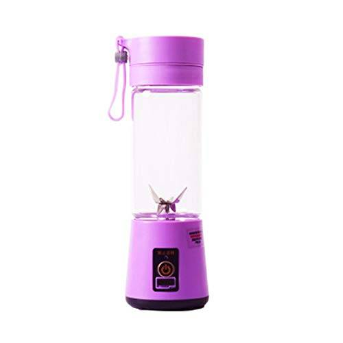 petunia spremiagrumi elettrico portatile usb usb smoothie maker portatile ricaricabile viola