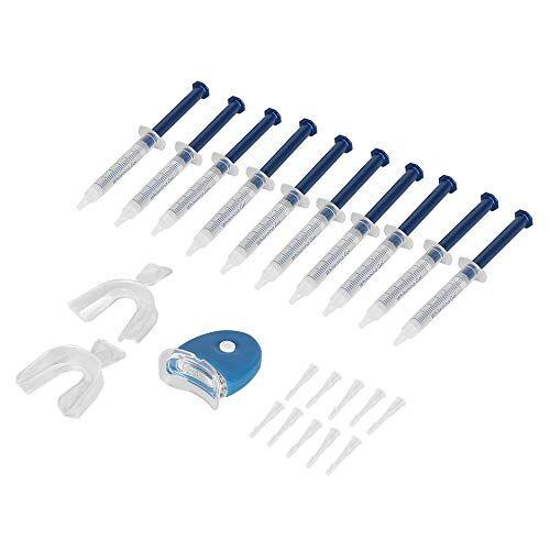petunia 10 pezzi bianchi denti sbiancamento dei denti sbiancante sbiancamento kit professionale chiaro