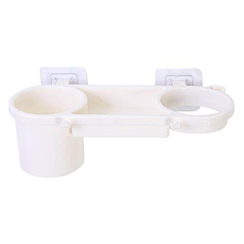 dijue cremagliera di stoccaggio dell'essiccatore di perforazione della cremagliera del bagno della cremagliera del bagno della cremagliera beige della pasta 26.6 * 8.2 * 11.5cm