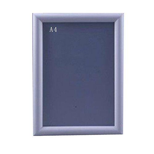 bgf 20pezzi din a4alluminio pieghevole quadro poster cornice 25mm profilo angoli su troncatrice