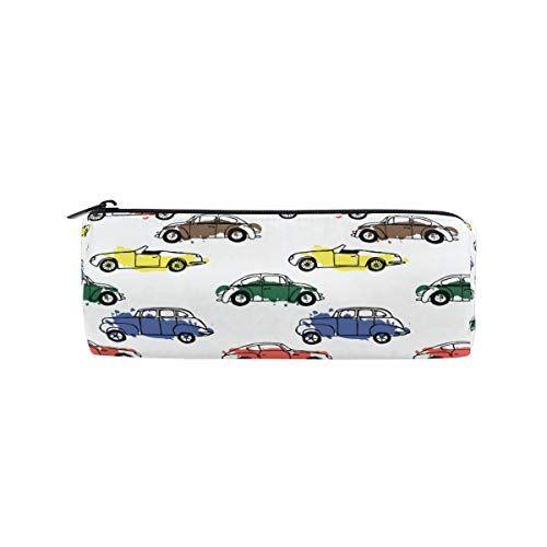 xianghefu astuccio portamatite forma cilindrica portapacchi per auto con penne colorate per auto con cerniera