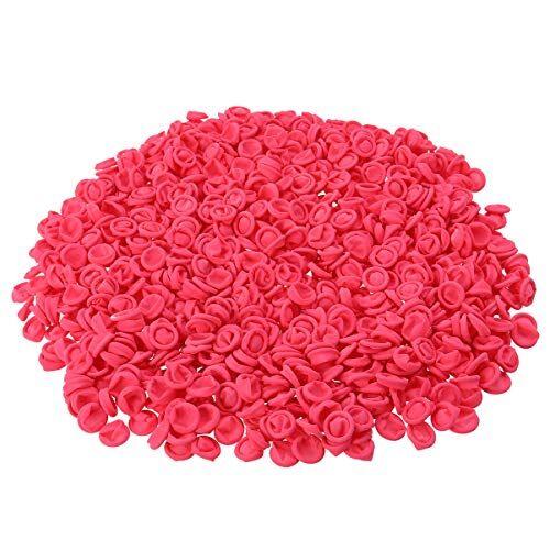 artibetter 500g guanti da dito in lattice per dita usa e getta (rosa)
